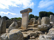 Megalith monuments, Menorca. Photo by Menorca Tourist Board