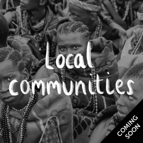 Local communities - coming soon