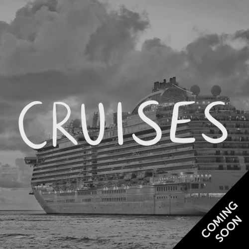 Cruises - coming soon