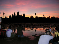 Sunrise at Angkor Wat, Vacation in Cambodia review