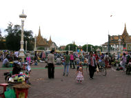 Markets, Vacation in Cambodia