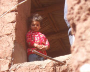 Berber girl on Morocco vacation