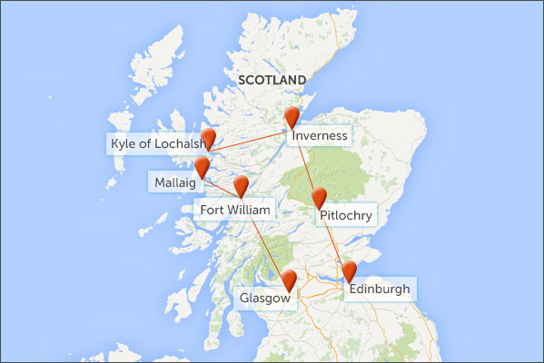 Train Routes In Scotland Map.Scotland By Train Helping Dreamers Do