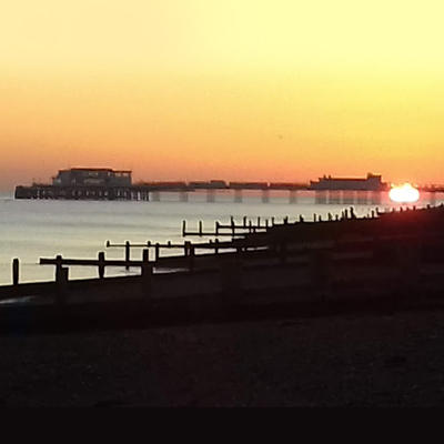 Worthing sunset