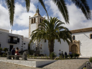 Cathedral of Santa Maria de Betancuria on Fuerteventura. Photo by Nick Haslam
