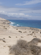 Central west coast of Fuerteventura. Photo by Nick Haslam