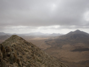 View from summit of Tindaya, Fuerteventura. Photo by Nick Haslam