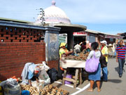 Market stall, KwaZulu-Natal. Photo by Richard Madden