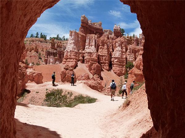 American National Parks walking vacation