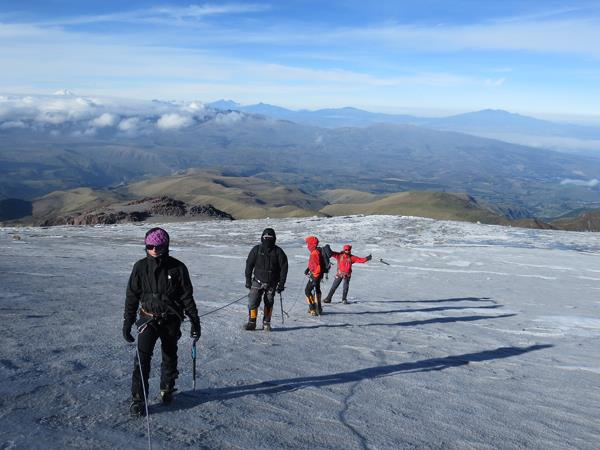 Cotopaxi climb and trekking vacation in Ecuador