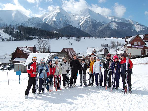 Tatra mountains winter activity week in Slovakia
