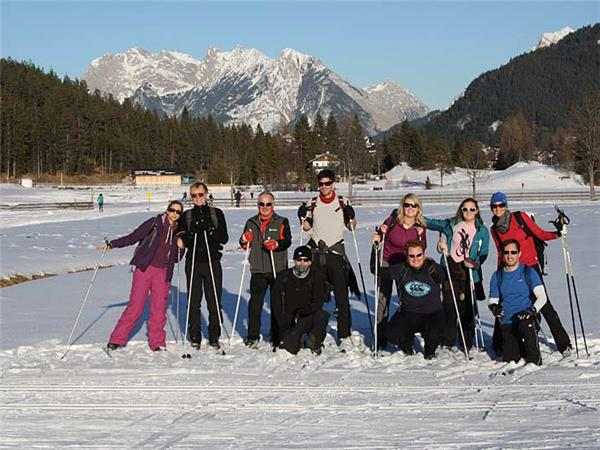 Classic and Skate cross country skiing in Austria