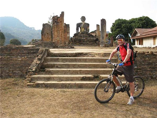 Biking vacation in Laos