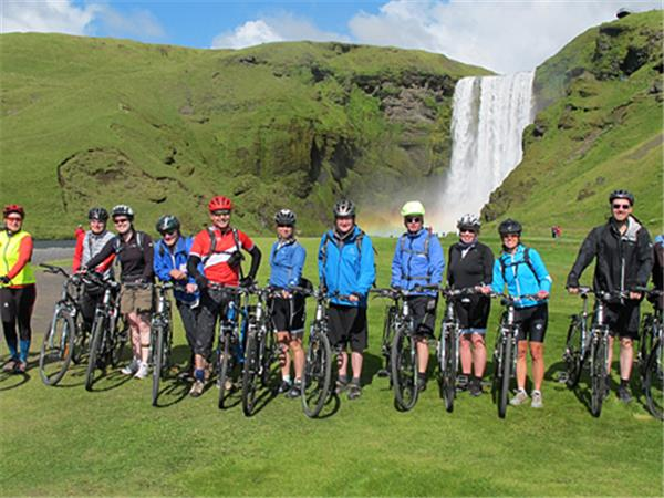 Iceland biking vacation