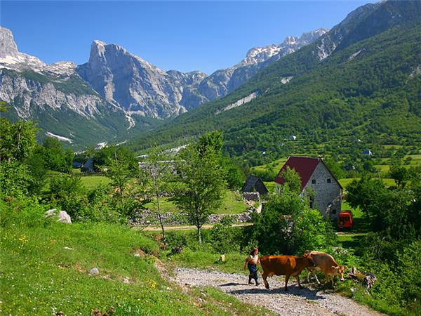 Albania walking holiday