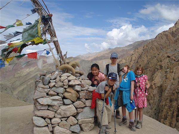 Himalaya family adventure vacation in Ladakh