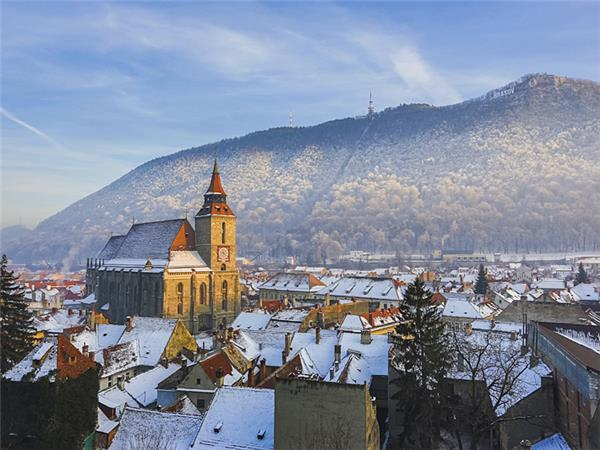 Transylvania winter vacation in Romania