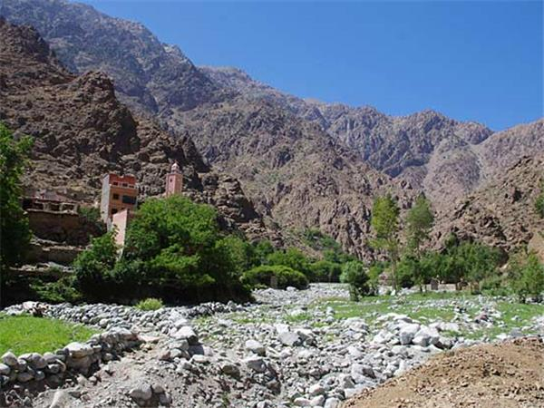 Morocco vacation, High Atlas peaks and valleys