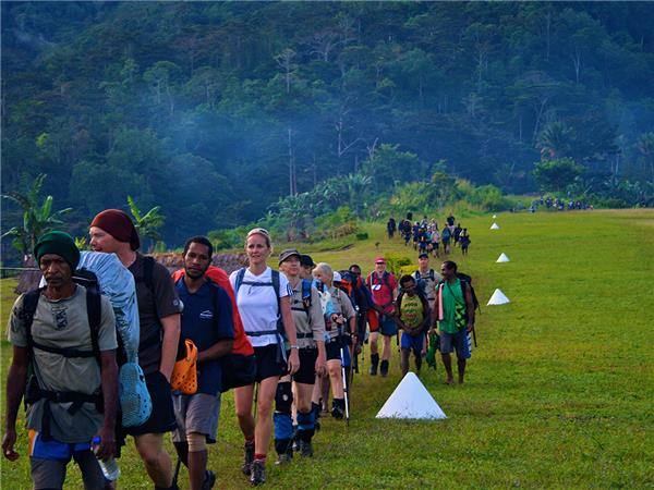Kokoda track trekking vacation in Papua New Guinea
