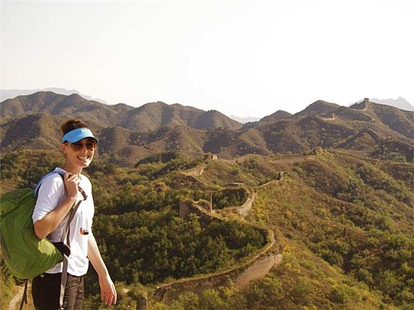 Great Wall of China walking vacation
