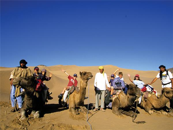 Camels & Kasbahs family vacation to Morocco
