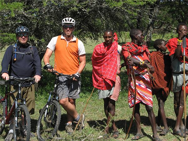 Tanzania cycling vacation and safari
