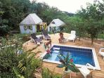 Saba ecolodge accommodation, Dutch West Indies