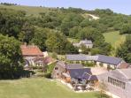 Isle of Wight self catering farm house, sleeps 10, England