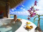 Luxury honeymoon in the Maldives