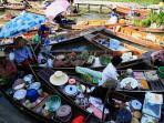 Thailand cultural tour, floating market & beach