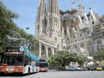 Accessible city bus tour of Barcelona