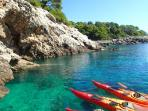 Sea kayaking vacation in Croatia
