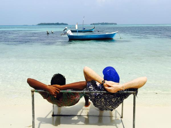 Maldives island hopping holiday
