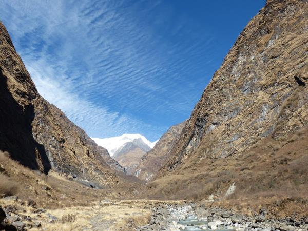 Annapurna base camp trekking vacation in Nepal