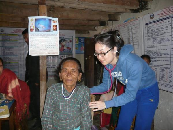 Healthcare volunteering in Nepal