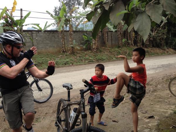 Vietnam & Laos biking vacation, small group