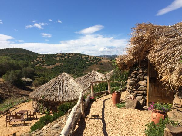 Unusual rural accommodation in Sardinia