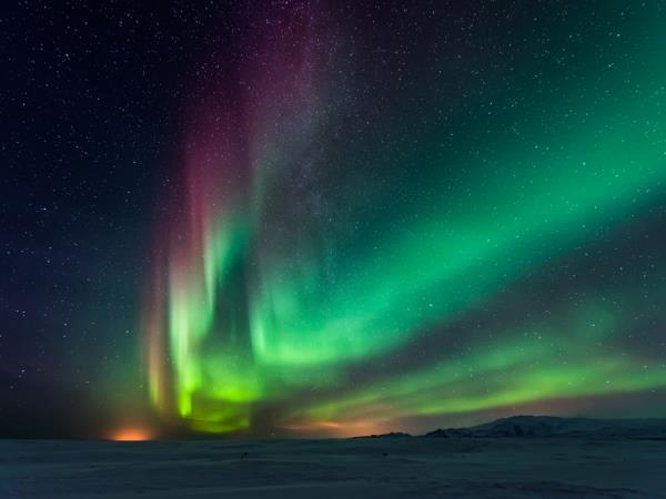 Northern Lights vacation, Lapland