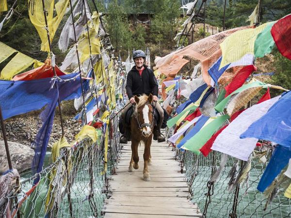 Horse trek vacation in Bhutan