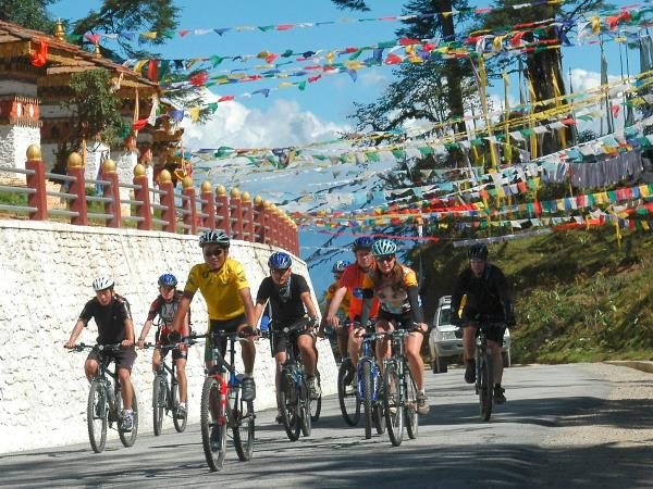 Mountain biking in mystical Bhutan