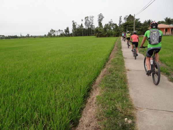 Saigon to Bangkok cycling vacation