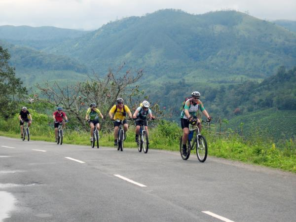 Bike, hike & kayaking holiday in Kerala, India