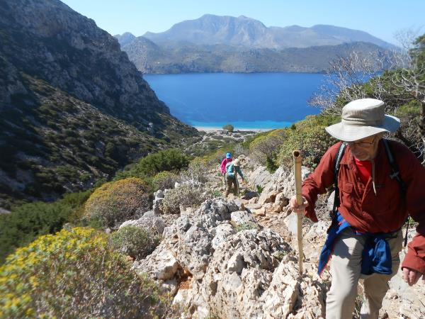 Walking & food vacation in Greece, Karpathos Island