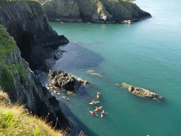 Pembrokeshire activity holiday in Wales
