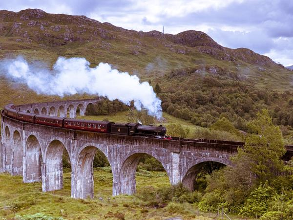 Scotland by railway vacation
