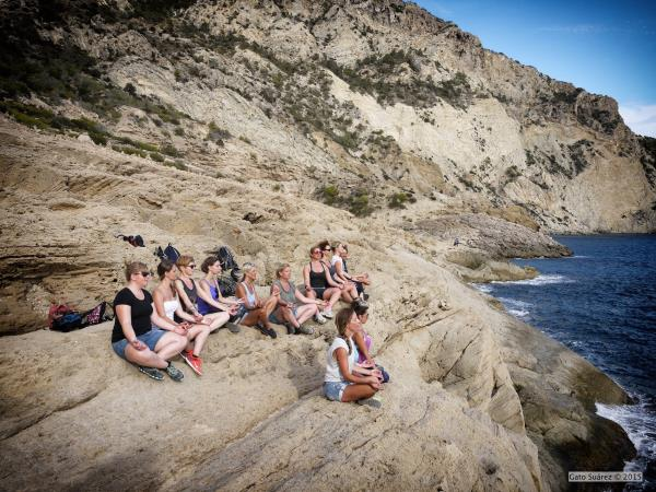 Ibiza yoga and hiking vacation