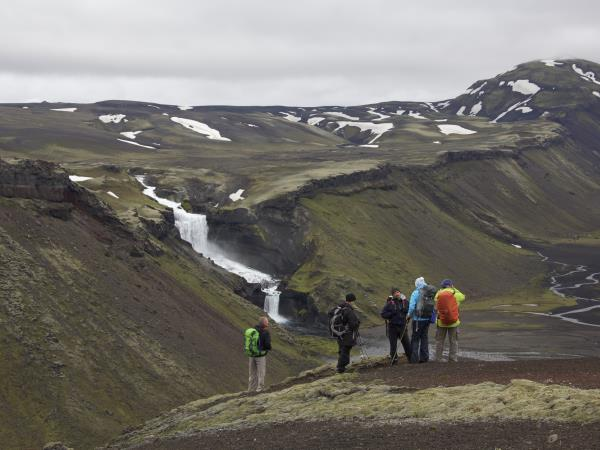 Iceland hiking vacation, Fjallaback region