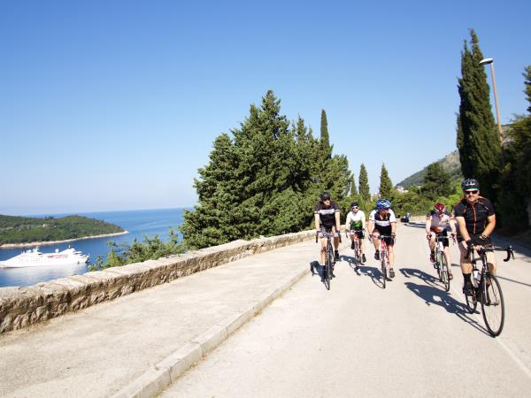 Croatia biking vacation, Dalmatian wine roads