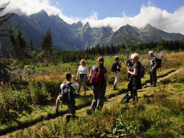 Slovakia guided walking vacation in the High Tatras