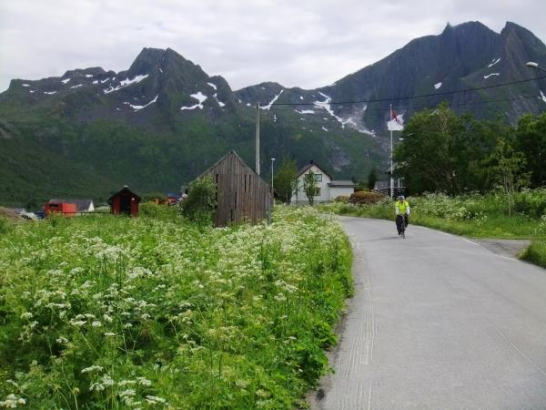 Norway self guided biking, Senja
